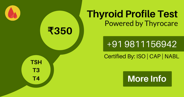 Thyroid blood test services at home in Delhi